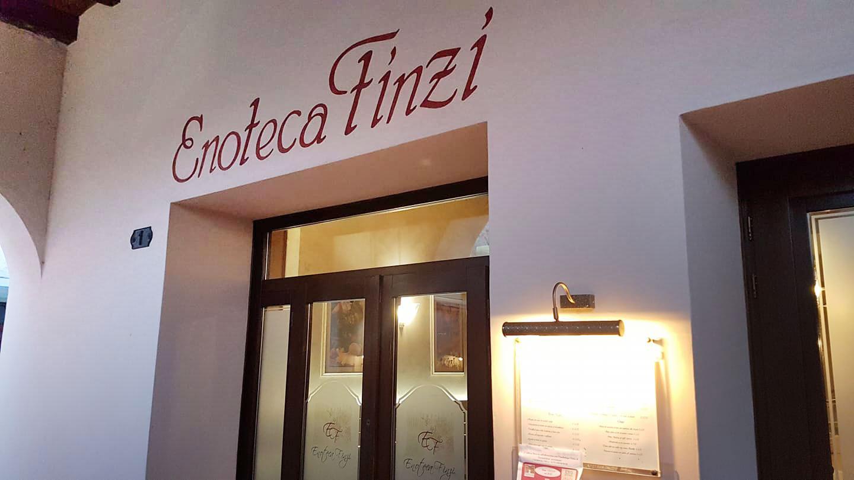 Enoteca Finzi - ingresso